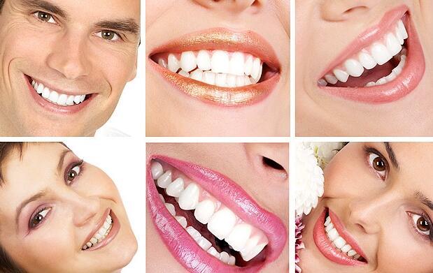 Blanqueamiento dental con luz LED