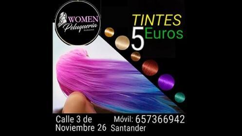 Tíñete el pelo de cualquier color por 5€