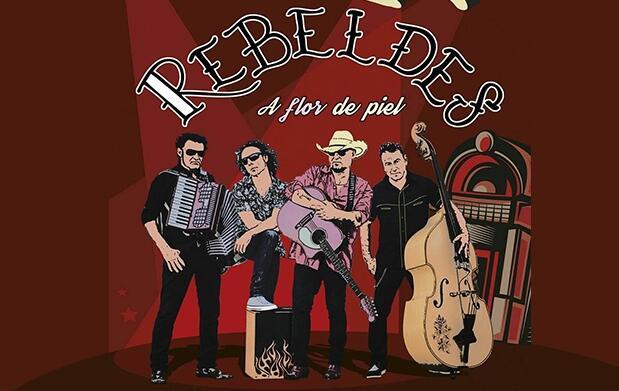 Entradas  Los Rebeldes, Tomasito y Aurora&The betrayers