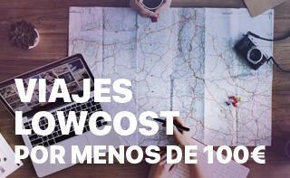 Viajes Lowcost (menos 100 €)