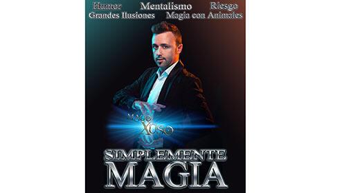 Entradas para Simplemente Magia en el Teatro Salesianos en Santander por 4.9€