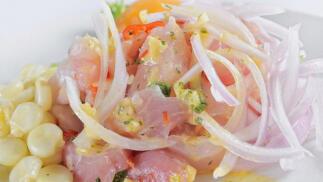 Menú de 5 recetas peruanas para una persona por 12€