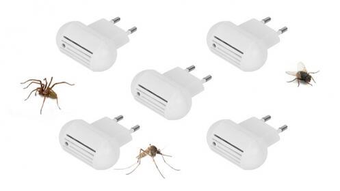 Pack de 5 antimosquitos ultrasonicos