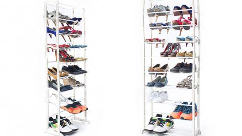 Organizador de 30 pares de zapatos