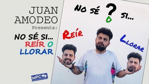 Entradas para el humorista sevillano Juan Amodeo en Santander