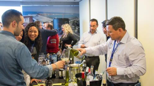 Feria de vino ciudad de Santander