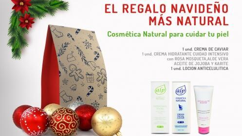 1 ó 2 lotes regalo Navidad de cosmética natural