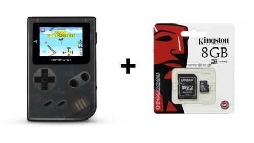 ¡Mini consola retro + tarjeta Kingston 8G de regalo!