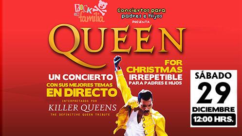 """Entradas """"Queen for Christmas"""" para toda la familia en Escenario Santander"""