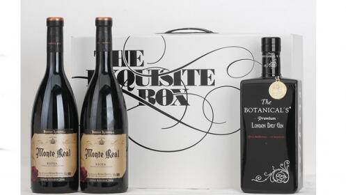 1 Premium Botanical´s + 2 Vino Tinto D.O. Rioja Monte Real