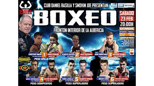 Entradas para boxeo, frontón interior de La Albericia el 23 de febrero desde 9.9€
