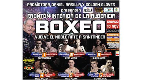 Entradas para boxeo, Frontón interior de La Albericia el 10 de noviembre desde 9.9€