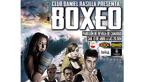 Entradas para boxeo, en el Pabellón de Revilla de Camargo, el 13 de abril desde 9.9€