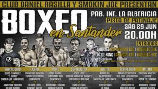 Entradas para boxeo, en el Pabellón Polideportivo de La Albericia el 29 de junio desde 9.9€