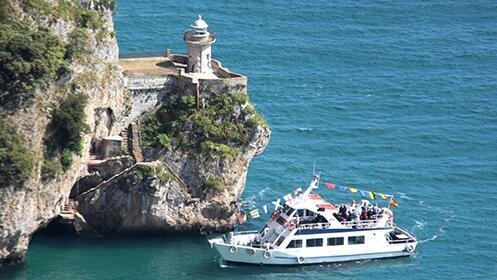 Conoce el Faro del Caballo + Fabrica de Anchoas+ Paseo turístico en barco