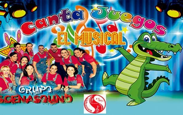 """Entradas para """"Canta Juegos"""" El Musical"""