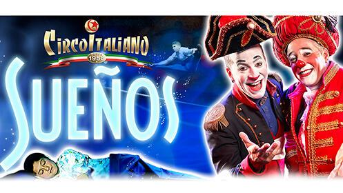 Últimas entradas exclusivas para El Circo Italiano desde 8.9€