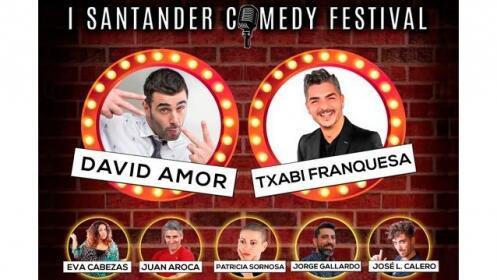 Entrada para I Santander Comedy Festival ¡David Amor, Txabi Franquesa y muchos más!