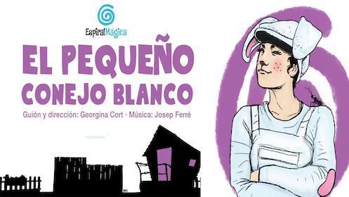"""Entradas para """"El Pequeño conejo Blanco"""" en el Teatro Salesianos, el 26 de diciembre a las 17.00 h. en por 5.6€"""
