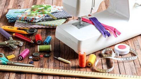 Curso de iniciación a la costura y reciclaje en Santander o Torrelavega