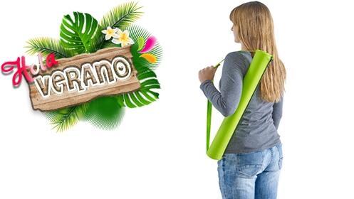 ¡Hola verano! Esterilla de playa plegable verde por 3.95€