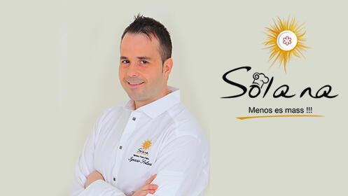 Degusta el menú Estrella Michelin en restaurante Solana por solo 55€ con maridaje incluido