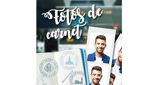 Revela tus fotos o hazte de carnet desde 3.90€
