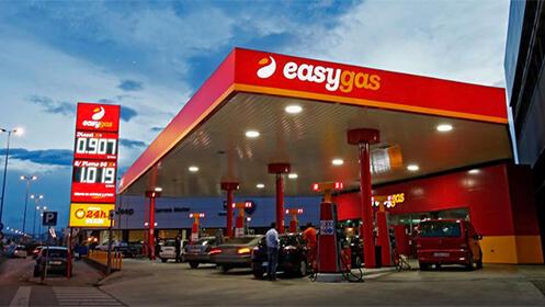 Con este cupón de 20€ podrás repostar 25€ en Easy Gas, Santander