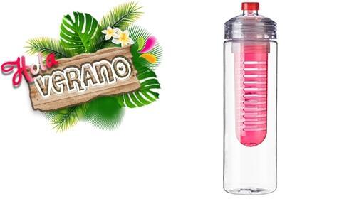 ¡Hola verano! Botella infusión de color rojo por 4.95€