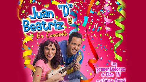 """Entradas """"Juan 'D' y Beatriz. En Concierto"""" en el Teatro Salesianos en Santander por 5.6€"""