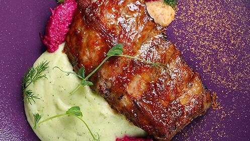 Menú en el Restaurante Laguillo, Laredo