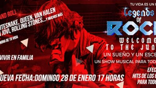 Entradas para Legends of Rock en familia el 28 de enero