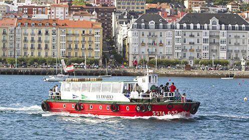 Menú de 5 platos en Taberna Pepe + Billete de ida y vuelta en barco por la bahía de Santander