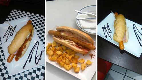 Perrito XXL a elegir + patatas + bebida por 5.50 €