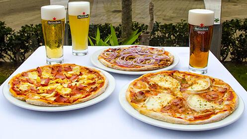 Pizza individual 100% artesanas con bebida por 4.40€