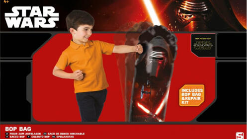 Saco de boxeo hinchable Star Wars