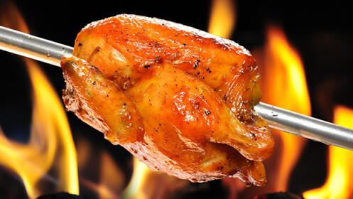 Pollo asado con patatas para llevar por 8.9€