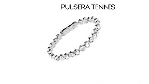 Pulsera Tennis con cristales de Swarovski