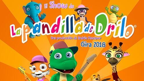 Entradas para La pandilla de Drilo con regalo a cada niño de cd y poster. Teatro Salesianos en Santander por 7.5€