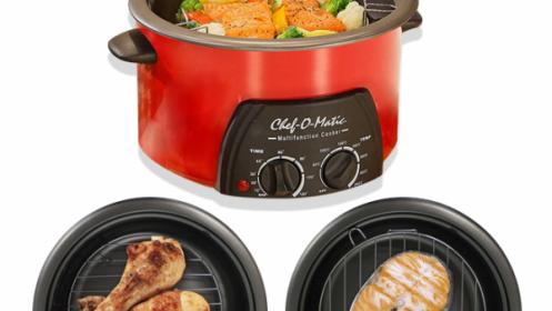 Robot de cocina multifunción 3 o 5L