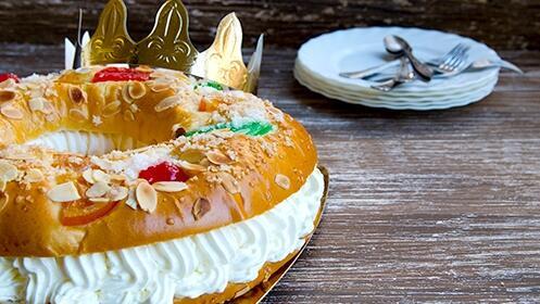 Roscón de Reyes: el dulce de la Navidad