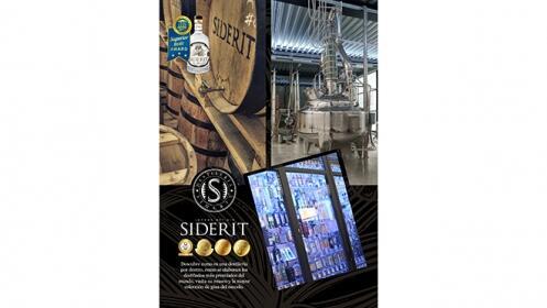 Visita a Destilería Siderit con cata de gin tónic para 2 personas