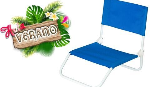 ¡Hola verano! Silla para la playa, campo o piscina por 9.95€
