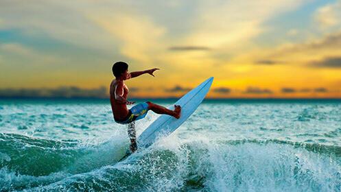 Escapada relax de 2 noches con desayunos, cenas, surf o Spa