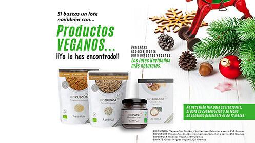 Lotes regalo para Navidad de cosmética natural, jabones artesanales o vegano ecológico